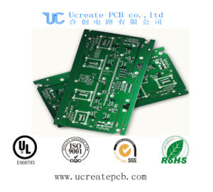 Fr4 PCB for CRT Color TV with Green Solder Mask pictures & photos