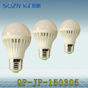 5W Plastic Light with High Power LED for Indoor Use