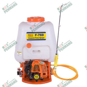 Brass Head 2 Stroke Knapsack Power Sprayer with Tu26/34f Engine (F-769) pictures & photos