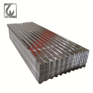 0.17mm Thickness Hot DIP Gi Galvanized Corrugated Steel Sheet pictures & photos