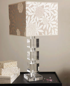 China 2019 Stacked Crystal Table Cube Lamp Lighting For Table Home