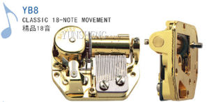 Deluxe 18-Note Musical Movement - (YB8) B pictures & photos