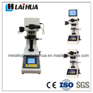 computer control automatic metal micro hardness tester instrument with printer. micro durometer