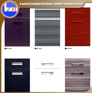 Hotsale MDF Kitchen Cabinet Door Price (zhuv) pictures & photos