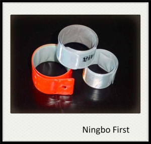 High Visibility Refaelctive Wrist Band with Logo pictures & photos