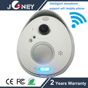 J-Mky90sk Intellgent Doorphone 720p Doorbell IP Camera with Remote Control Door Open Function pictures & photos