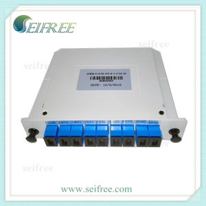 1X8 Channel Bidirectional Optical Fiber CWDM Multiplexer pictures & photos