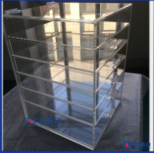 Large Vanity Impressions Acrylic Make up Storage Box pictures & photos