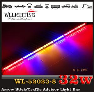 Emergency LED Traffic Light Used for Police Vehicle