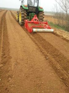 New Seedbed Rotary Machine, Rotary Tiller with Ridger, Bed Former Rotary Tiller