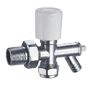 (HE-4104) Radiator Valve with Zinc, Aluminum or Plastic Handle for Water
