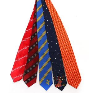 100% Silk Custom Uniform Necktie Men′s Formal Logo Tie pictures & photos