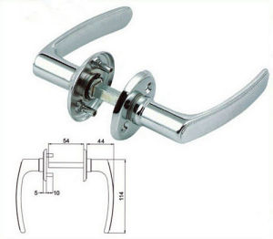 Zinc Alloy Door Handles with Good Quality (ATC-285) pictures & photos