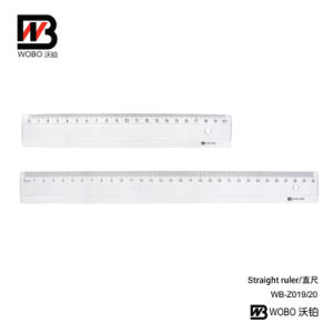 Office School Supplies UV Paint Standarded Plastic Stationery Ruler