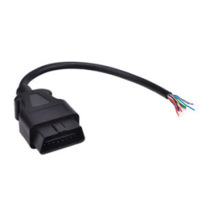 OBD2 16 Pin Male Opening Extension Connector