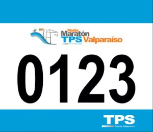 New Product Tyvek Paper Bike Sports Marathon Running Bib Numbers pictures & photos