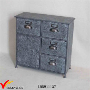 Art Antique Filing Cabinet in Vintage Metal pictures & photos