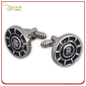 Promotion Gift Volkswagen Logo Stainless Steel Cufflink pictures & photos
