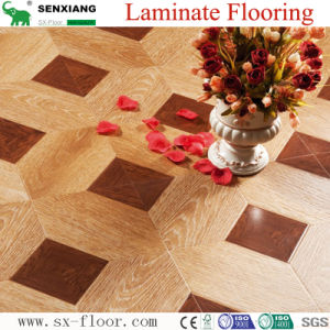 12mm MDF/HDF Various Art Parquet Laminated Laminate Flooring