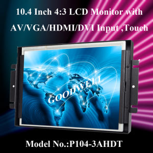Metal Frame 10.4 Inch LCD pictures & photos