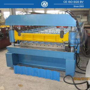 Aluminium Longspan Cold Roll Forming Machine pictures & photos