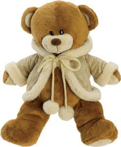 new 2016 christmas day teddy bear soft stuffed animal fur pet puppet plush toy for children