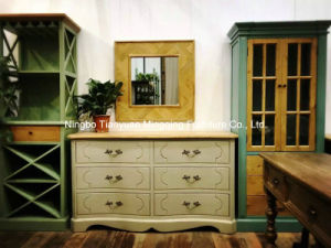 Match Well of Chinese and Western Cabinet Antique Furniture with Drawers