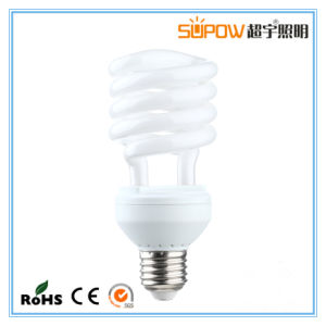 Half Spiral 12W 15W 18W Energy Saving Lamp CFL Light pictures & photos