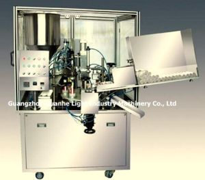 Automatic Soft Tube Filler with Sealing & Chiller pictures & photos