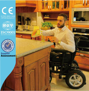 Showgood Foldable Electric Wheelchair for The Disabled and Elderly People
