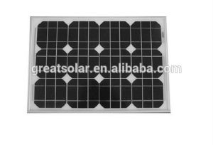 Price Per Watt! ! ! 40W 18V Mono Solar Panel, Solar PV Module High Performance with Cheap Price pictures & photos