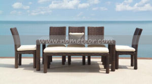 Mtc-157 Outdoor Rattan Garden Furnituere Dining Set