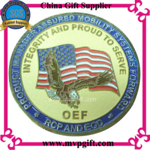 Customized Metal 3D Challenge Coin for Military Coin Gift pictures & photos