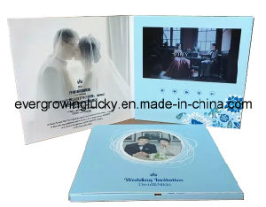 Custom Personal Wedding Cards with LCD Screen Display pictures & photos