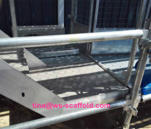 Kwikstage Scaffold Steel Stair Way