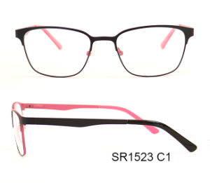 Double Color Latest Metal Optical Frames Ready Goods pictures & photos