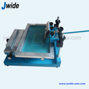 Manual PCB Stencil Screen Printer Machine for SMT Assembly Line pictures & photos