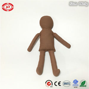 coffee Color Plain Cotton Soft Stuffed DIY Kids Gift Doll pictures & photos