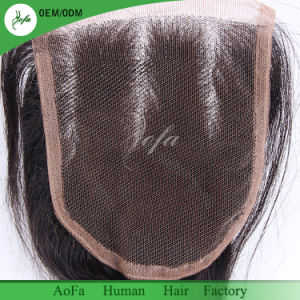 The Brazilian Remy Human Hair Lace Frontal for Natural Black pictures & photos