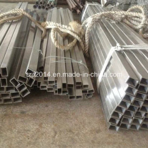 A312 TP304 Seamless Stainless Steel Square and Rectangular Pipe pictures & photos