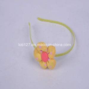 Big Yellow Flower Modelling, Pink DOT DOT, Leisure Style, Fashion Girls Hair Accessories, The Girls Head Hoop, 2016 Tiaras