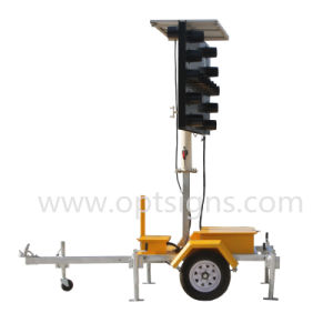 High Quality Flashing Arrow Sign Road Safety Arrow Board Trailer pictures & photos