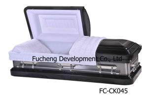 2016 Newest and Hotest American Style Furneral Metal Casket (FC-045)
