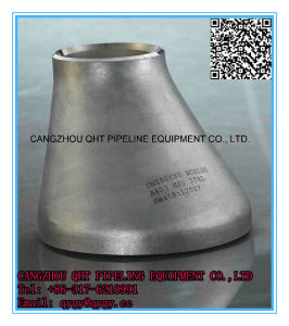 "ASTM/ASME A234 Wp1/Wp5 3"" Sch40 Alloy Carbon Eccentric Reducer"