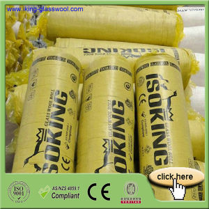 Isoking Glass Wool Blanket with CE and ISO Certification pictures & photos