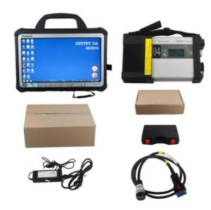 Original Second Hand V2015.05 for Mercedes Benz C5 SD Connect Xentry Tab Kit Support Online Update for 1 Year