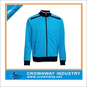 Royal Blue Varsity Football Jacket with Water Resist Function pictures & photos
