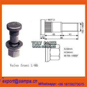 China Bolts and Nuts for Tronillos Volvo Scania Mercedes