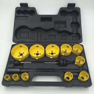 14PCS Bi-Metal Hole Saw Kit with Blow Box