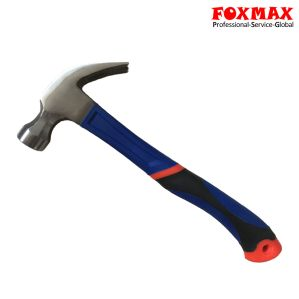High Quality Claw Hammer with Rubber Handle (HM-010)